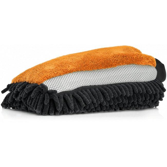Nuke Guys - 3 Way Wonder - Mikrofaser Waschandschuh (orange)