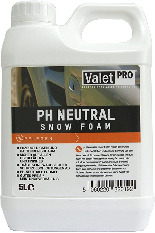 ValetPRO - Snow Foam ph Neutral 5 Liter